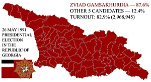 1991 Presidential election in the Republic of Georgia.jpg