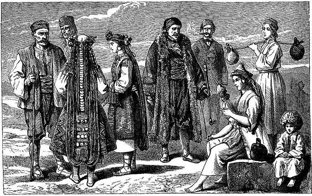 19th century Bulgarian Merchants
