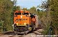 1 2 BNSF 8772 Leads WB Manifest Olathe, KS 10-23-17 (37268818984).jpg