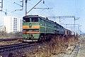 2ТЭ10В-4337, USSR, Saratov region, Trofimovsky-I - Saratov-I-Passanger stretch (Trainpix 158988).jpg