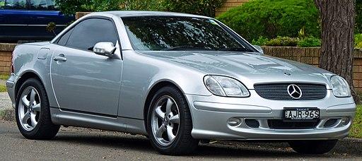 2001 Mercedes-Benz SLK 320 (R 170) roadster (2010-11-28)