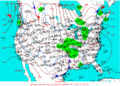 2003-01-16 Surface Weather Map NOAA.png