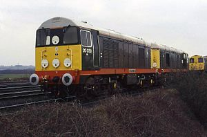 GB Railfreight - Image: 20030 and 20064 Shirebrook Depot