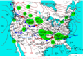 2004-01-25 Surface Weather Map NOAA.png