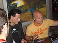 2005 Fantastic Four's Ioan Gruffudd and Michael Chiklis.jpg