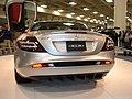 2005 silver Mercedes SLR rear.JPG