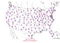 2006-09-11 Max-min Temperature Map NOAA.png