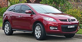 2006-2009 Mazda CX-7 (ER) Luxury wagon (2010-06-17) 01.jpg