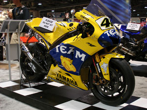 Grand Prix motorcycle racing - Yamaha YZR-M1 MotoGP bike (2006)