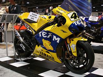 Grand Prix motorcycle racing - Yamaha YZR-M1 MotoGP bike (2006)