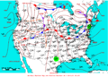 2007-05-28 Surface Weather Map NOAA.png