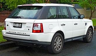 Range Rover - Range Rover Sport (first generation