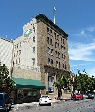 Bank of Italy (Visalia, California) - Bank of Italy building