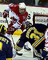 2010–11 NCAA - Reilly Smith vs Shawn Hunwick.jpg