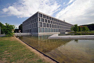 Federal Labour Court - Federal Labor Court Building in Erfurt