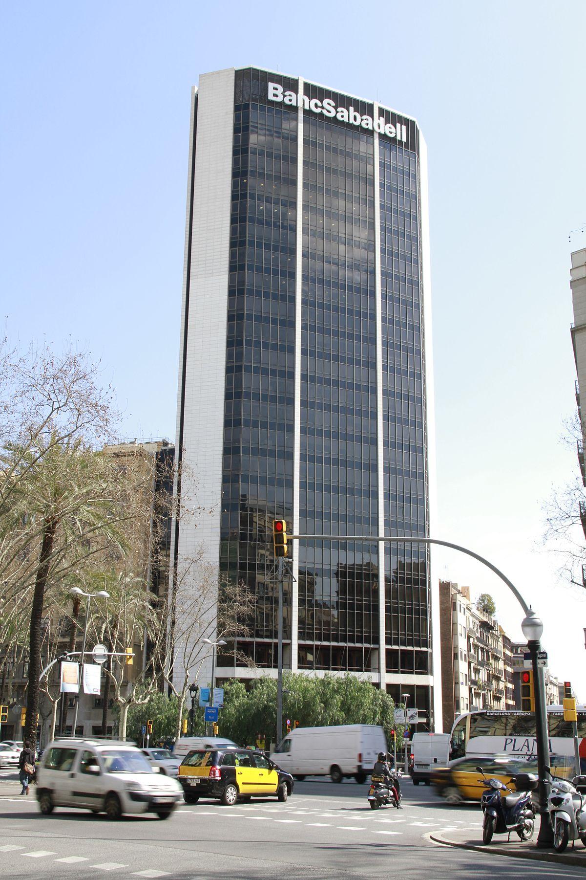 Banco sabadell wikipedia la enciclopedia libre for Oficinas seguridad social barcelona horarios