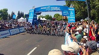 Berryessa, San Jose - Image: 2012 Amgen Tour of California Stage 3 Start DCIM 100GOPRO (7205095394)