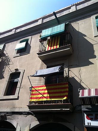 National Day of Catalonia - Image: 2012 Catalan independence protest (6)