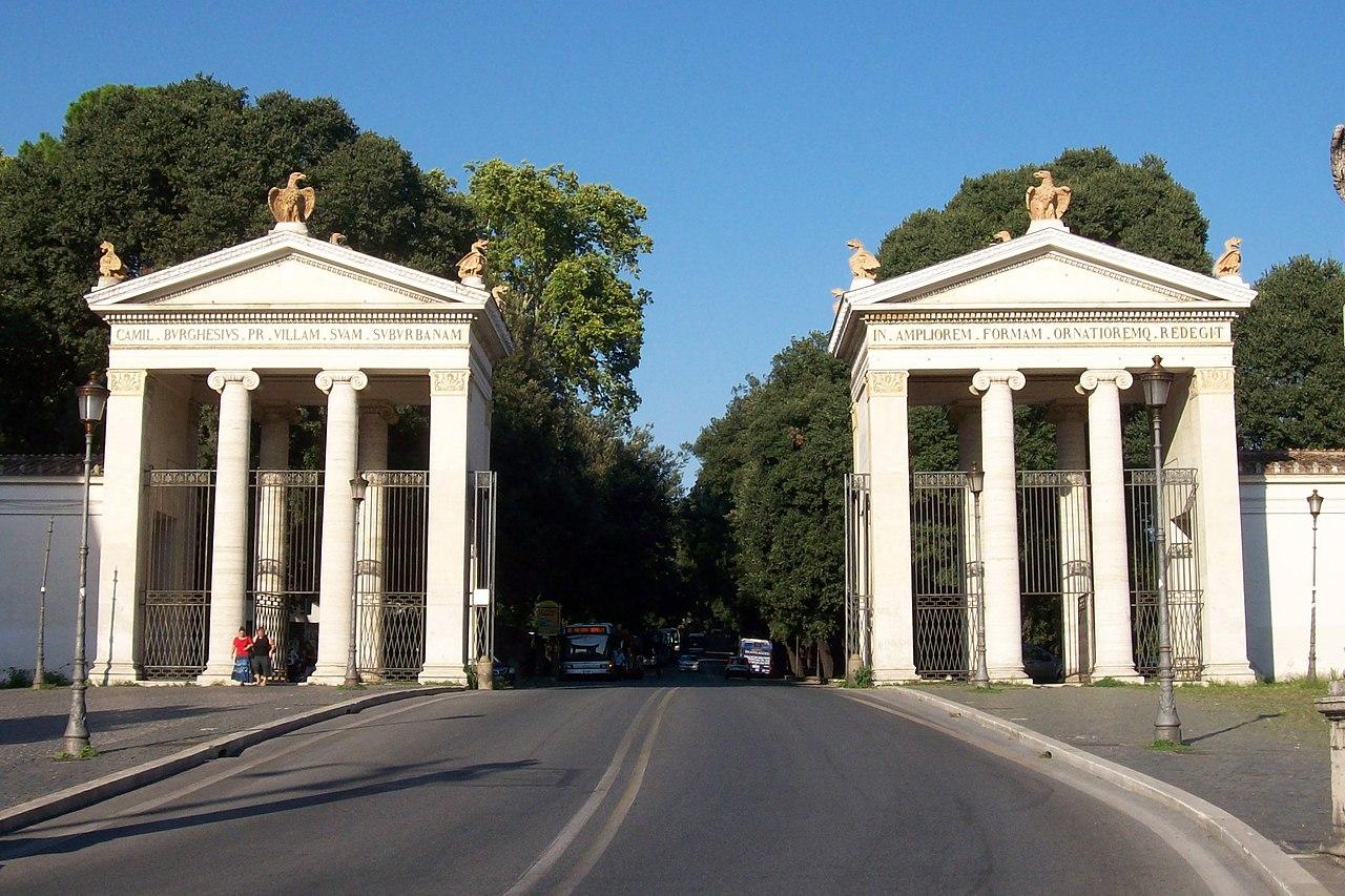 Oggi A Roma Villa Borghese Piazza Siena