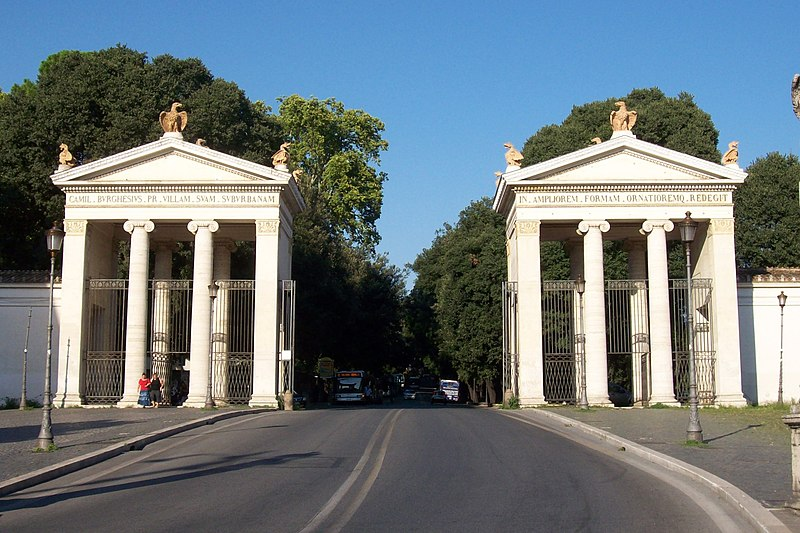File:2013-09-02 Roma ingresso Villa Borghese.jpg