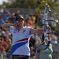 2013 FITA Archery World Cup - Women's individual compound - 3rd place - 02.jpg