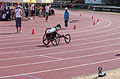2013 IPC Athletics World Championships - 26072013 - Angela Ballard of Australia during the Women's 400M - T53 first semifinal 16.jpg