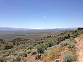 "2014-06-13 12 30 08 View south-southwest from the summit of ""E"" Mountain in the Elko Hills of Nevada.JPG"