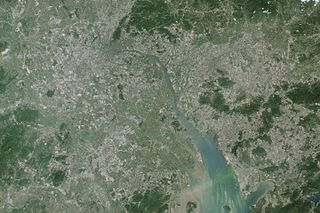 Metropolitan region and area