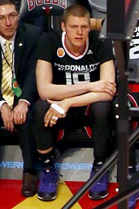20150401 MCDAAG Henry Ellenson on the sidelines during play.JPG