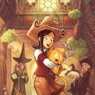Krita - Free web comic Pepper&Carrot artwork by David Revoy, drawn in Krita