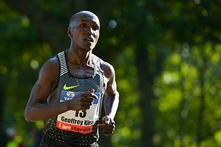 Geoffrey Kirui Kenyan long-distance runner