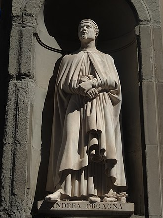 Loggiato of the Uffizi - Image: 2016 Uffizi Great Florentines 21
