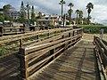 2017-02-28 Access stairs and boardwalk, Praia Santa Eulália, Albufeira.JPG