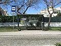 2017-04-05 Bus stop, Three palms roundabout, Albufeira.JPG