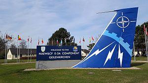 NATO Air Base Geilenkirchen - Image: 20170313 AWACS 09