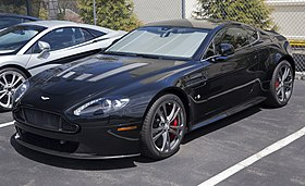 Aston Martin Vantage Wikipedia - Aston martin vantage v8
