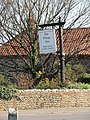 2018-04-18 Village Inn pub sign, Cromer road, West Runton.JPG
