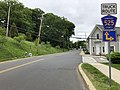 2018-05-30 12 39 01 View north along Somerset County Route 525 (Claremont Road) at Mill Street in Bernardsville, Somerset County, New Jersey.jpg