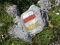 2018-08-29 (183) Marker stone at Rax, Austria.jpg