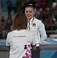 2018-10-13 Gymnastics at 2018 Summer Youth Olympics – Girls' Artistic Gymnastics – Apparatus finals – Uneven bars – Victory ceremony (Martin Rulsch) 21.jpg