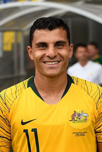 Andrew Nabbout - Nabbout with Australia in 2018