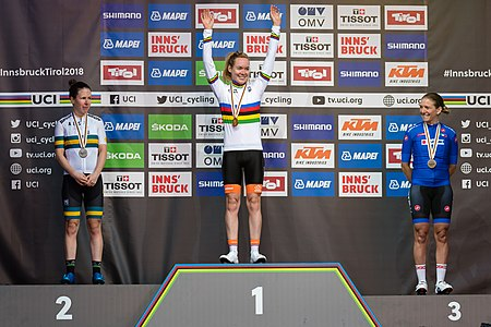 20180929 UCI Road World Championships Innsbruck Women Elite Road Race Award Ceremony 850 1450.jpg