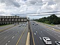 2019-07-07 15 43 59 View north along Interstate 270 (Washington National Pike) from the overpass for Maryland State Route 927 (Montrose Road) on the edge of North Bethesda and Potomac in Montgomery County, Maryland.jpg
