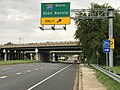 2020-08-03 16 51 35 View west along Maryland State Route 150 (Eastern Avenue-Boulevard) at the exit for Interstate 695 SOUTH (Glen Burnie) in Dundalk, Baltimore County, Maryland.jpg