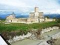 210 Cathédrale Saint-Georges-d'Alaverdi -XIe siècle- A l'arrière le Grand Caucase.JPG