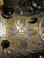 221 Basílica de Montserrat, cúpula amb mosaics de la cambra del tron de la Mare de Déu.JPG