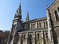 237 Església nova de Santo Tomás de Canterbury (Sabugo, Avilés), façana est.jpg