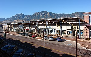 Twenty Ninth Street (Boulder) - A strip mall section in the 29th Street retail center