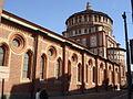 3067 - Milano - S. Maria delle Grazie - Fianco e tiburio - Foto Giovanni Dall'Orto - 6-Mar-2008.jpg