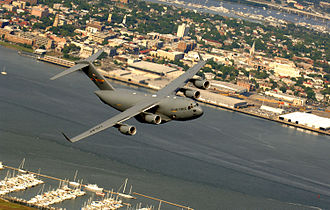 Charleston Air Force Base - Image: 315th c 17 charleston 2